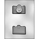 "3D Camera Chocolate Mold - 1 3/4"""
