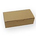 1/2 lb. 1 Piece Kraft Candy Box: 5 1/2 x 2 3/4 x 1 3/4 in.