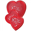 Red Heart Box w/Happy Valentines Day  - 4oz