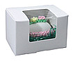 1/4 lb. Window Egg Box : 3-5/8 x 2-3/8 x 2-3/8