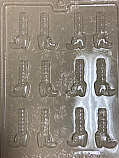 Witches Legs Chocolate Mold