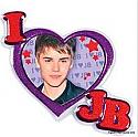 Novelty Clearance - Justin Bieber Cake Layon