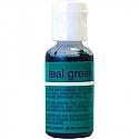Chefmaster Gel Paste - Teal Green 0.70 oz.