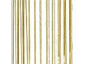 """Gold Vertical Stripe Cello Bag - 3.5"""" x 2"""" x 7.5"""""""