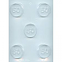 #50 Cookie Chocolate Mold