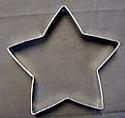 "Star Cookie Cutter - 5"""