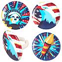 Celebrate Liberty Cupcake Rings
