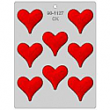 Heart with Love Chocolate Mold