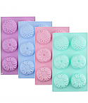 Large Assorted Flower Silicone Mold