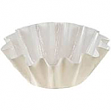 Bulk Item - Brioche Baking Cup - White - Full Sleeve