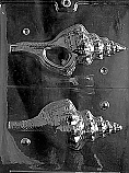 Conch Shell Chocolate Mold ( Make Hollow)