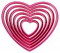Nesting Heart Cookie Cutter Set - 6 Piece