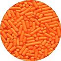 Orange Jimmies/Toppers 3 oz.