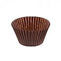 Bulk Item -Small Brown Baking Cups - Full Sleeve
