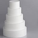 Cake Dummy Clearance - Styrofoam - 14 Inch Round