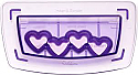 Clearance - Wilton Sugar Sheet Cutting Insert - Hearts