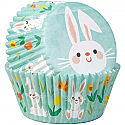 Easter - White Bunny Baking Cups
