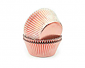 Rose Gold Foil Mini Baking Cups