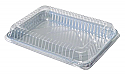 1/4 Sheet Disposable Cake Carrier w/o Lid