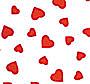 "Hearts Chocolate Transfer Sheet - 11"" x 15"""