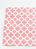 Pink Quatrefoil Cookie Bag