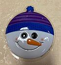 Snowman Head Layon Cake Topper