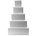 Cake Dummy Clearance - Styrofoam - 12 Inch Square