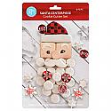 Santa Centerpiece Cookie Cutter Set  - 6 Piece