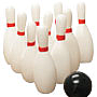 Bowling Ball and Pin Candle Set