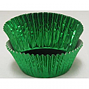 Green Foil Standard Baking Cups