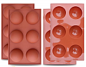"Sphere Silicone Mold -  2.75"" (Chocolate Bomb Mold) - IN STOCK TODAY!"