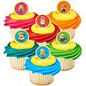 Minions Cupcake Rings