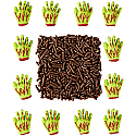 Halloween Decorating Kit - Zombie Hands